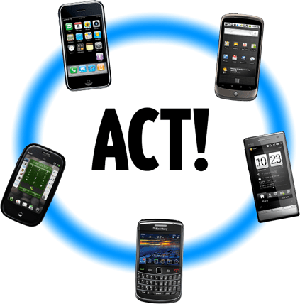 Sync ACT! with the latest smartphones