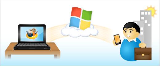 Sync via Windows Live