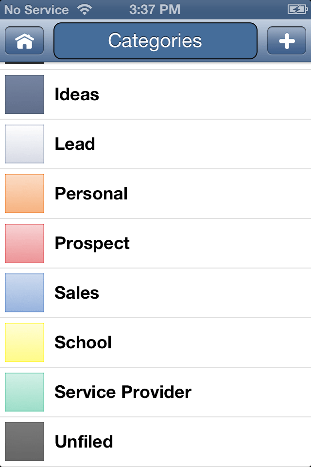 DJOI - Categories