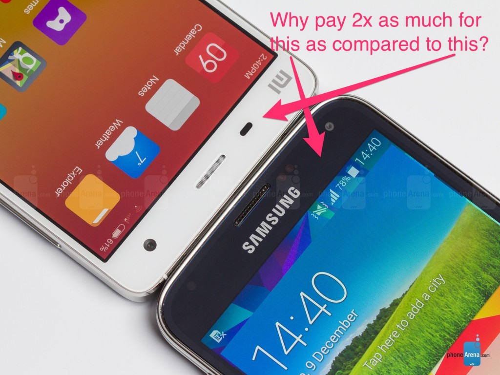 Why pay 2x as much for a Galaxy device compared to other Android devices that offer the same features?
