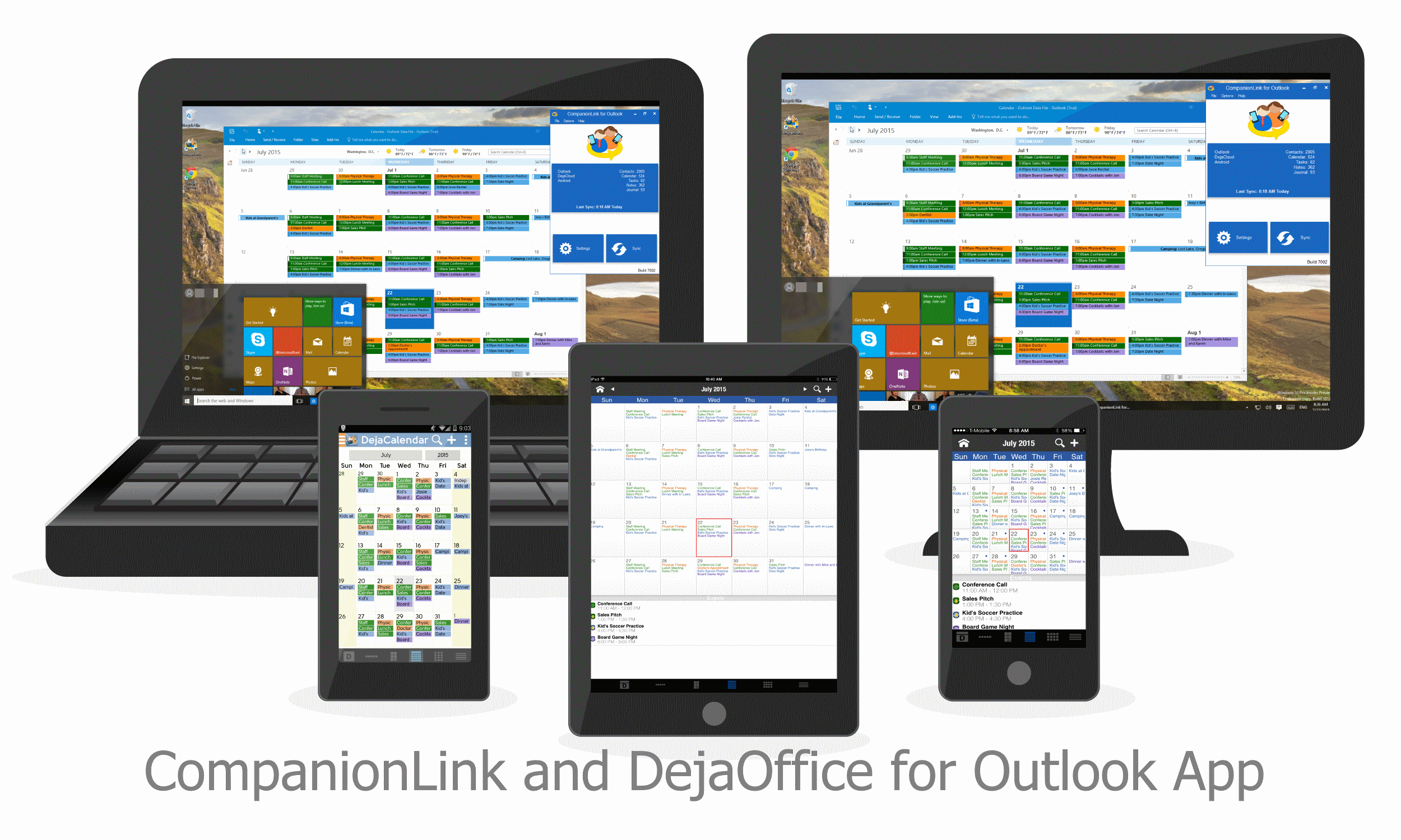 How to Sync Outlook Contacts, Calendar, Tasks and Notes with