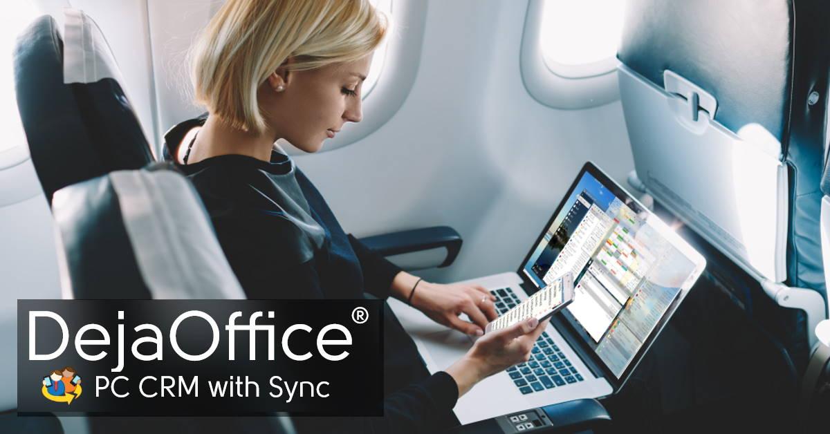 DejaOffice PC CRM