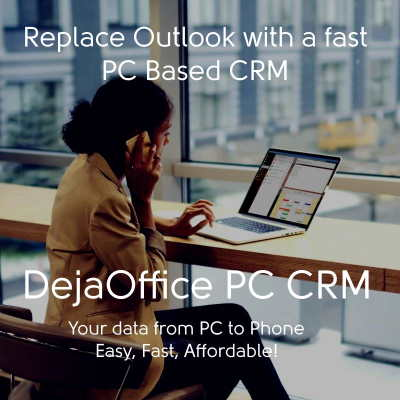 DejaOffice PC CRM with Outlook