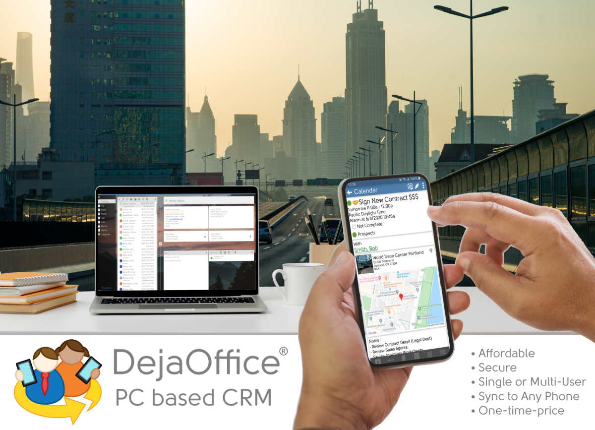 DejaOffice PC CRM