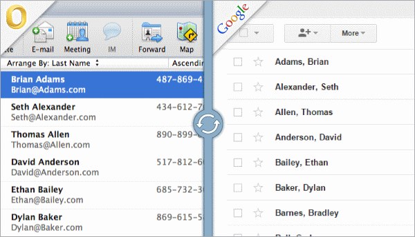 how to sync contacts from mac to iphone outlook for mac sync 21028