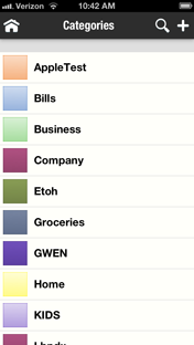 DejaCategories lets you categories contacts, appointments, tasks and notes in color categories