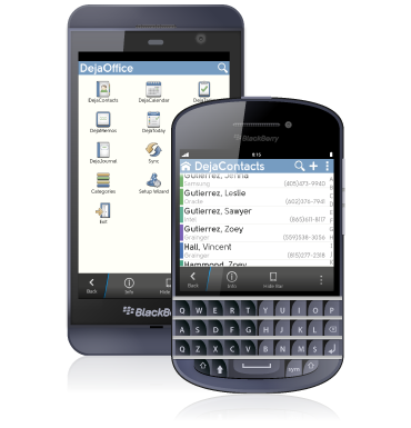 Sync software for BlackBerry
