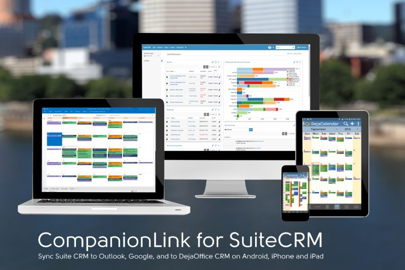 SuiteCRM Sync for Outlook, Suite CRM Sync for Google, SuiteCRM Sync for Android