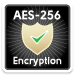Secure 256-bit encryption