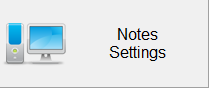 Notes Settings