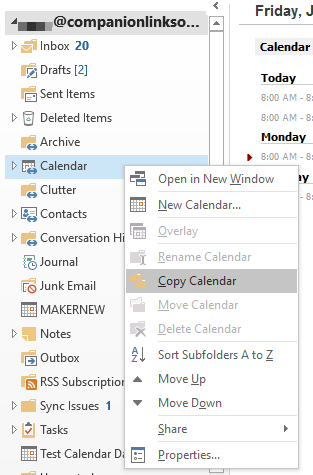 outlook imap how to connect online and outlook folder