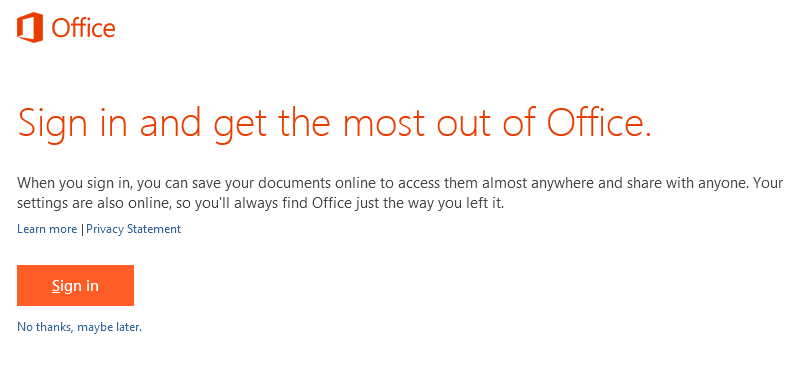 How to configure Office 2013 PC Install without using Office 365 ...